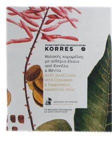 Soft Pastilles, with Cinnamon & Peppermint 24 pcs KORRES