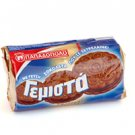 Sandwich Biscuits with chocolate flavor  2 Pcs X 85g FROM PAPADOPOULOU