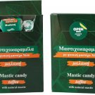 Mastic candy toffee. Box 75g