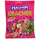 Tsichlokarameles Haribo Maoam Kracher in various fruit flavors