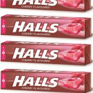 CANDIES HALLS CHERRY 4 PCS FROM GREECE HOLLS CHERRY