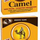 2 Camel paste 40ml Black shoe polish FROM GREECE