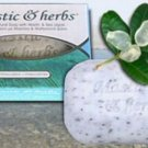 Mastic & herbs soap with sea algae