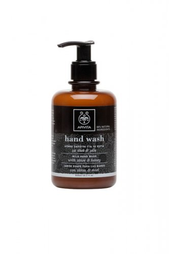 Apivita Handwash 300ml with olive and honey