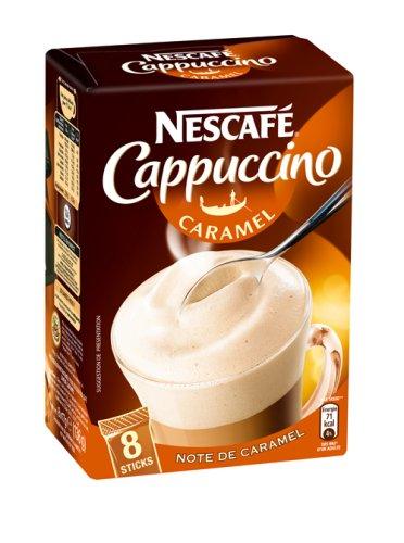 Nescafe cappuccino caramel 145gr