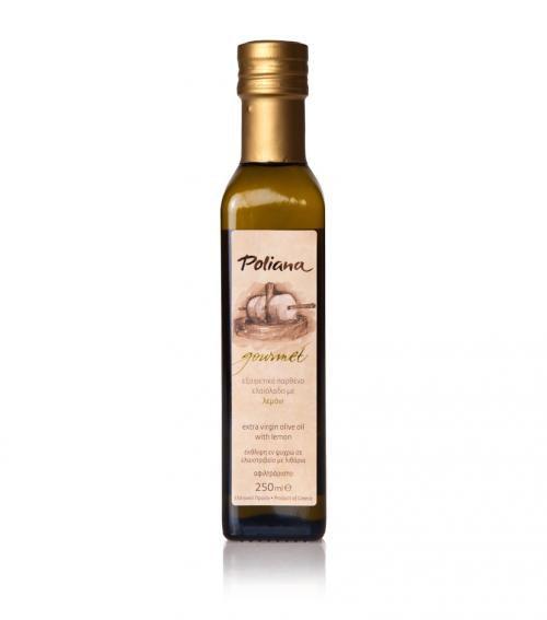 """Poliana Gourmet"" olive oil with lemon 250ml"