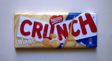 NESTLE CRUNCH WHITE CHOCOLATE 100�Ρ