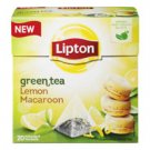 Lipton green tea lemon macaroon Lipton  20 bags
