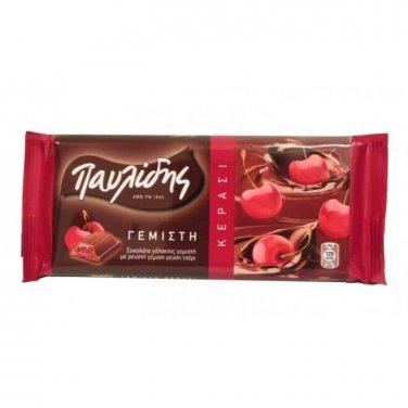 Pavlidis Chocolate with Cherry 100 gr