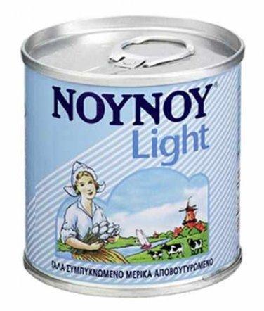 Nounou Evaporated Milk Light 170ml (2 pieces)