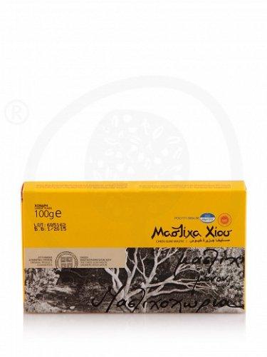Natural Chios mastic. Box 100g Large size tears