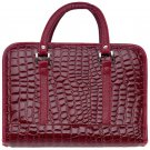 Gigi Chantal™ Burgundy Faux Alligator Bible Cover