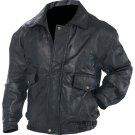 Napoline™ Roman Rock™ Design Genuine Leather Jacket (Size: Large)