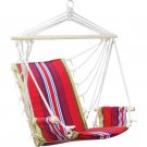 Club Fun™ Cushioned Hanging Rope Chair with Arm Rests