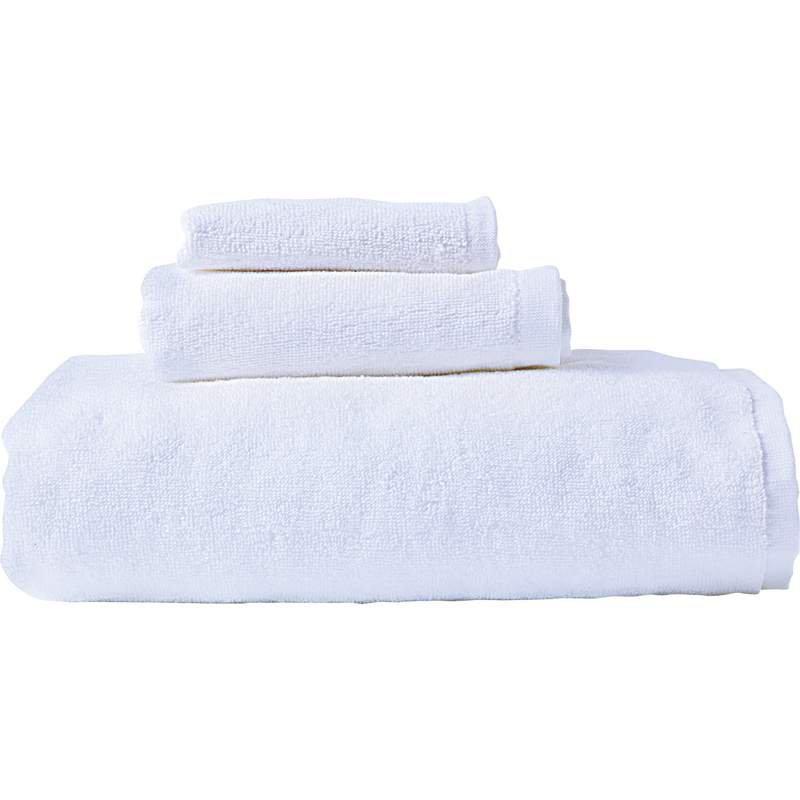 Wyndham House� 3pc White Bath Towel Set