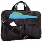 Maxam® Brand Italian Mosaic™ Design Genuine Leather Briefcase