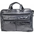 Maxam® Brand Italian Mosaic™ Design Genuine Leather Briefcase