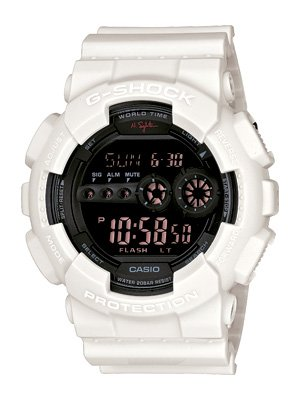 100% authentic new Casio G-Shock watch GD100NS-7 with box| Nigel Sylvester Limited Edition GD-100NS