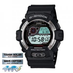 Casio G-Shock watch GW-8900-1 with box MULTIBAND 6 SOLAR
