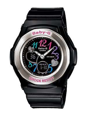 100% authentic new Casio Baby-g  BGA101-1B with box| Multi Color Dial