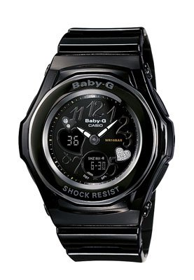 100% authentic new Casio Baby-g  BGA102-1B with box|black displays