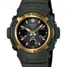 Casio G-Shock watch AWR-M100A-3|olive color| Analog-digital| AWRM100A