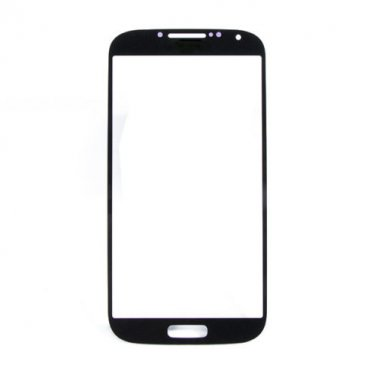 Samsung Galaxy S4 Front Glass Lens Black