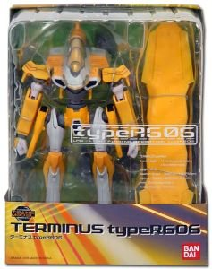 Eureka Seven Terminus Type R606 606 Action Figure