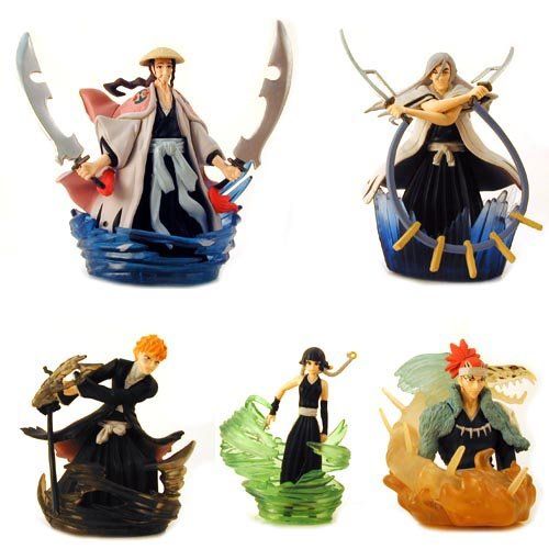 Bleach Gashapon Diorama Set