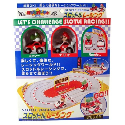 Mario Slot Car Racing Track Set