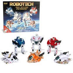 Robotech Super Deformed Figures (Set of 6)