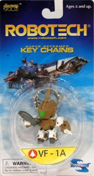 Robotech Super Deformed Keychain VF-1A