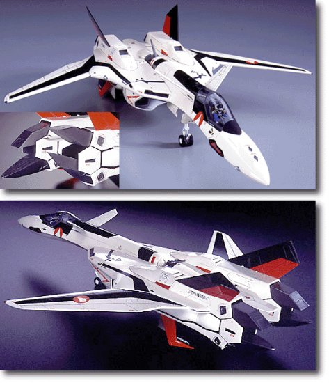 Macross 1/72 YF-19 Fighter Hasegawa Model Hobby Kit