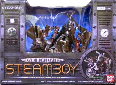 Steamboy Movie Realization Model