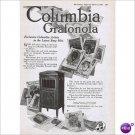 Columbia Grafonla Al Jolson 1920 full page ad E105