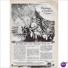 General Pershing Crusaders WWI movie 1918 full page ad E107