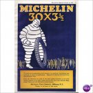 Michelin Tire Milltown, N.J. 1920 full page color ad E127