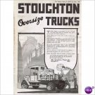 Stoughton Wagon Company Stoughton Wi 1920 full page ad E130