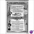 Conn saxophone cornet trombone 1920 1 page ad Elkhart, Indiana E137