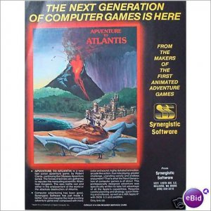 Adventure Atlantis Synergistic Soft 1982 page color ad E183