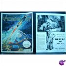 1939 Return to Mars rocket ship cover and 4 pages story E193