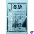 1912 Jones Dairy Farm Fort Atkinson Wi 1 page ad E201
