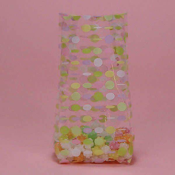 "Pastel Retro Beads, 100 cnt, 3.75"" x 7.5"" size"