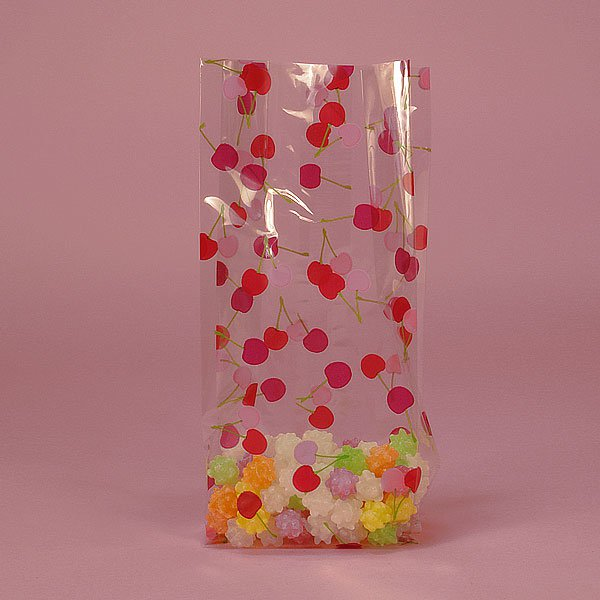 "Bag of Cherries Cello Bag 100 cnt, 3.5"" x 7.5"" Size"