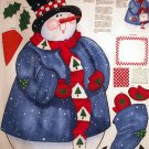 Daisy Kingdom Snowmen Door Panel cotton Fabric