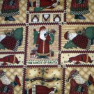 Debbie Mumm THE MAGIC OF SANTA, PATCH Fabric FQ