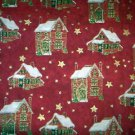 Christmas Village Fabric - Brother Sister Studio