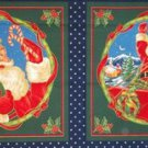 Santa's Gifts  Fabric Pillow Panels