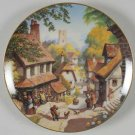 Old Mill: Story Of Country Village, Danbury Hersey plate