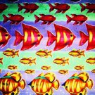 Rainbow Tropical Fish Fabric - Michael Miller